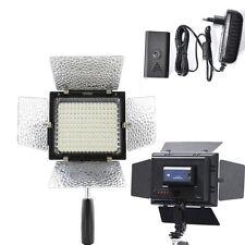 YN-160 LED Video Light + AC Power For Canon 5DIII 7DII 7D 70D 60D 750D 650D 760D