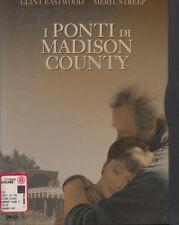 I ponti di Madison County (1994) DVD - EX NOLEGGIO SNAPPER BOLLINO ROSA