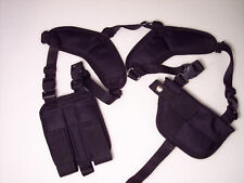 SMALL RIG Horizontal Shoulder Holster SPRINGFIELD ARMORY XD / XDM .40 w/ laser