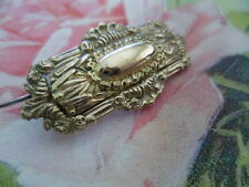 ANTIQUE VICTORIAN VINTAGE GOLD BROOCH OLD PIN