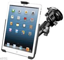 RAM Form-Fit Suction Cup Mount for iPad Mini, Mini 2, Mini 3, W/O Case or Sleeve