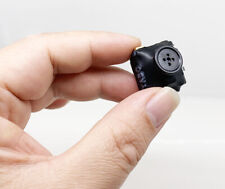 1080P HD shirt button Built-in battery micro mini smallest body camera recorder