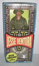 Jesse Ventura Man of Action Figure Navy Seal in Camouflage Free Shipping!