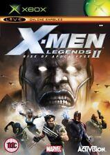 X-men legends ii: rise of apocalypse (Xbox) - jeu jwvg le bon marché rapide gratuit