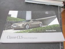 MERCEDES BENZ CLASSE CLS nuova generazione prospetto brochure 77 pagine ITALIANO