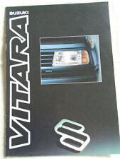 Suzuki Vitara range brochure Mar 1990