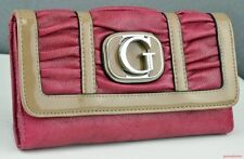 GUESS Faux Leather Trifold Purses & Wallets for Women