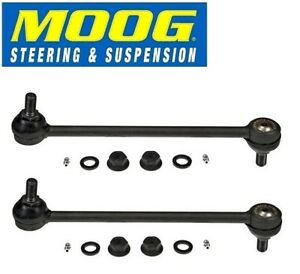 For Toyota Sienna 04-09 Pair Set of 2 Front Stabilizer Sway Bar End Links Moog