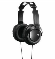 JVC Full Size Stereo Headphones Black StrongBass 12-22KHz 8.2 Ft Cord Black