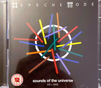 Depeche Mode ‎CD + DVD Sounds Of The Universe - Europe (M/M)