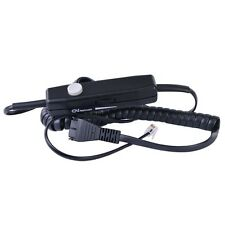 Gn Netcom 0686M In-Line Quick Disconnect Qd Headset Amplifier Cable wMute Button