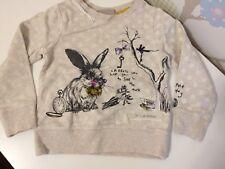 Next Hase Bunny Pullover Jacke Sweatshirt Gr 2-3 y 98