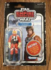 Star Wars Empire Strikes Black Retro Collection - Luke Skywalker (Snowspeeder)