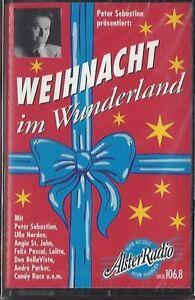 WEIHNACHT IM WUNDERLAND / PETER SEBASTIAN * MC - MUSIKKASSETTE 1999 * NEU