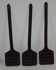 Authentic Amish Made 100% Real Leather Heavy Duty Fly Swatter