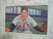 Gerry Staley 1952 Bowman St. Louis Cardinals Card #50