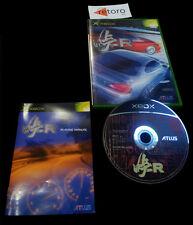 TOUGER R XBOX Microsoft Atlus JAP Completo Muy buen estado Carreras Conduccion