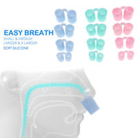 4pcs Anti Snore Apnea Nose Clip Anti-Snoring Breathe Aid Stop Device Sleep ls.kn