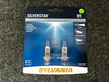 SYLVANIA H1 SilverStar High Performance Halogen Headlight Bulb, 2 Bulbs H1ST.BP2
