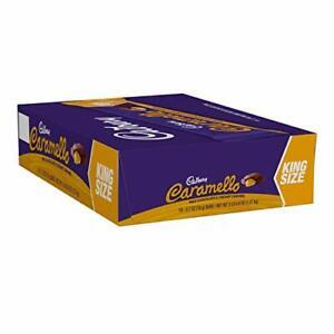 CARAMELLO Chocolate Caramel Candy Bar, King Size (Pack of 18)