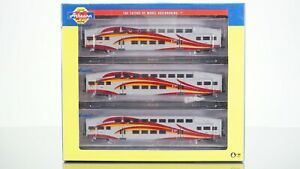 Athearn Bombardier New Mexico Road Runner 3 Car Set N scale