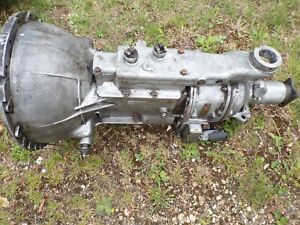 TRIUMPH TR3/4/5/6 Overdrive A type gearbox overhaul service also secondhand