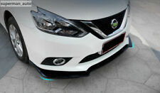 Front Bumper Around Grill Below Lips Cover Shovel For Nissan Sentra Sylphy 2016+