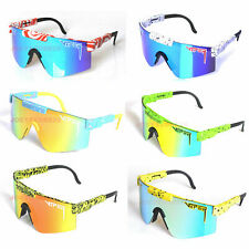 Pit Viper Polarized Cycling Sunglasses Sport Goggles TR90 For Men/Women Outdoor