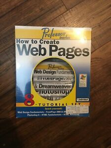 Professor Teaches How To Create Web Pages (Sealed)