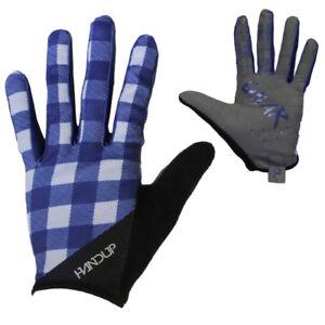 Handup Shred the Gnar Gloves - Lumberjack Flannel - MTB CX Road Cycling Glove