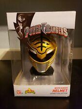 Bandai Mighty Morphin Power Rangers Legacy Collection White Ranger Helmet New