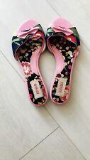 KENZO sandali-Fiori Rosa