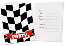 Checkered Flag Party Invitations