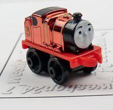 THOMAS & FRIENDS Minis Train Engine 2015  METALLIC JAMES Sealed #3 ` Weighted