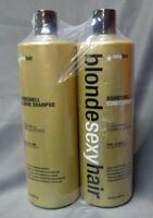 Blonde Sexy Hair, Sulfate-Free Bombshell Shampoo and Conditioner, 33.8oz (LC04)