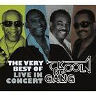 "KOOL & THE GANG ""THE VERY BEST OF - LIVE..."" CD NEU"