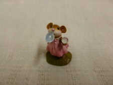 Wee Forest Folk Poppy's Bubbles Special Edition M-321 Pink Dress Retired