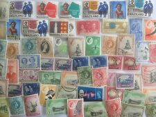 75 Different Swaziland Stamp Collection - Pre-Independence only