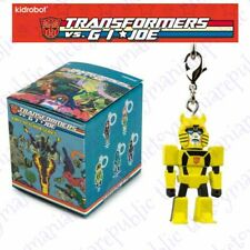 Kidrobot Transformers Vs G.I Joe Vinyl Figure Keychain Series Bumblebee 3/24