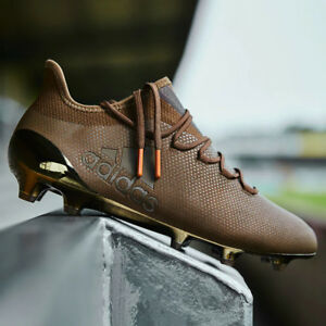 adidas X 17.1 FG Pure Stealth Mens Limited Edition Football Boots Brown