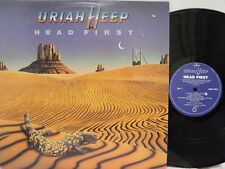 URIAH HEEP - Head First LP (RARE Canadian Import on MERCURY)