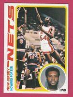 1978-79 Topps Basketball # 28 Howard Porter New Jersey Nets