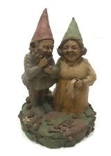 Tom Clark Gnome Jay And Martha excellent use conditions 7.5 in tall by 5 and 1/2