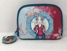 BNWT Santoro London Make Up / Toiletry Bag Zip Glitter Lady Parasol