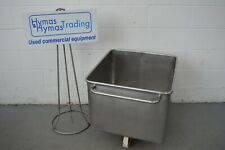 More details for stainless steel tote bin 200 litre special perforated type +other types free p+p