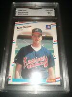 1988 Fleer Tom Glavine Rookie GMA 10 GEM MINT (Not PSA ) Braves 1995 WS MVP 🔥📈