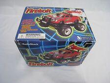 RADIO SHACK 60-4199 RC Fire Bolt TRUCK VEHICLE  Box Foam Remote Control FIREBOLT