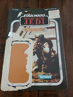 Star Wars Return Of The Jedi Rebel Commando  Cardback 80s ROTJ
