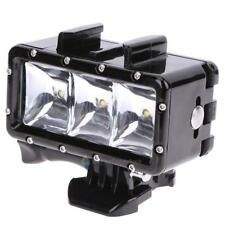 Underwater Light Waterproof Diving 3 LED Fill Lamp For GoPro Hero Accessories