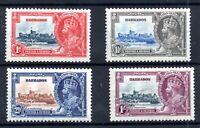 Barbados KGV 1935 Silver Jubilee MH set SG241-244 WS17813